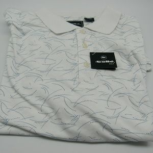 Men's XL Bolle Short Sleeve Golf Shirt New w/ Tags